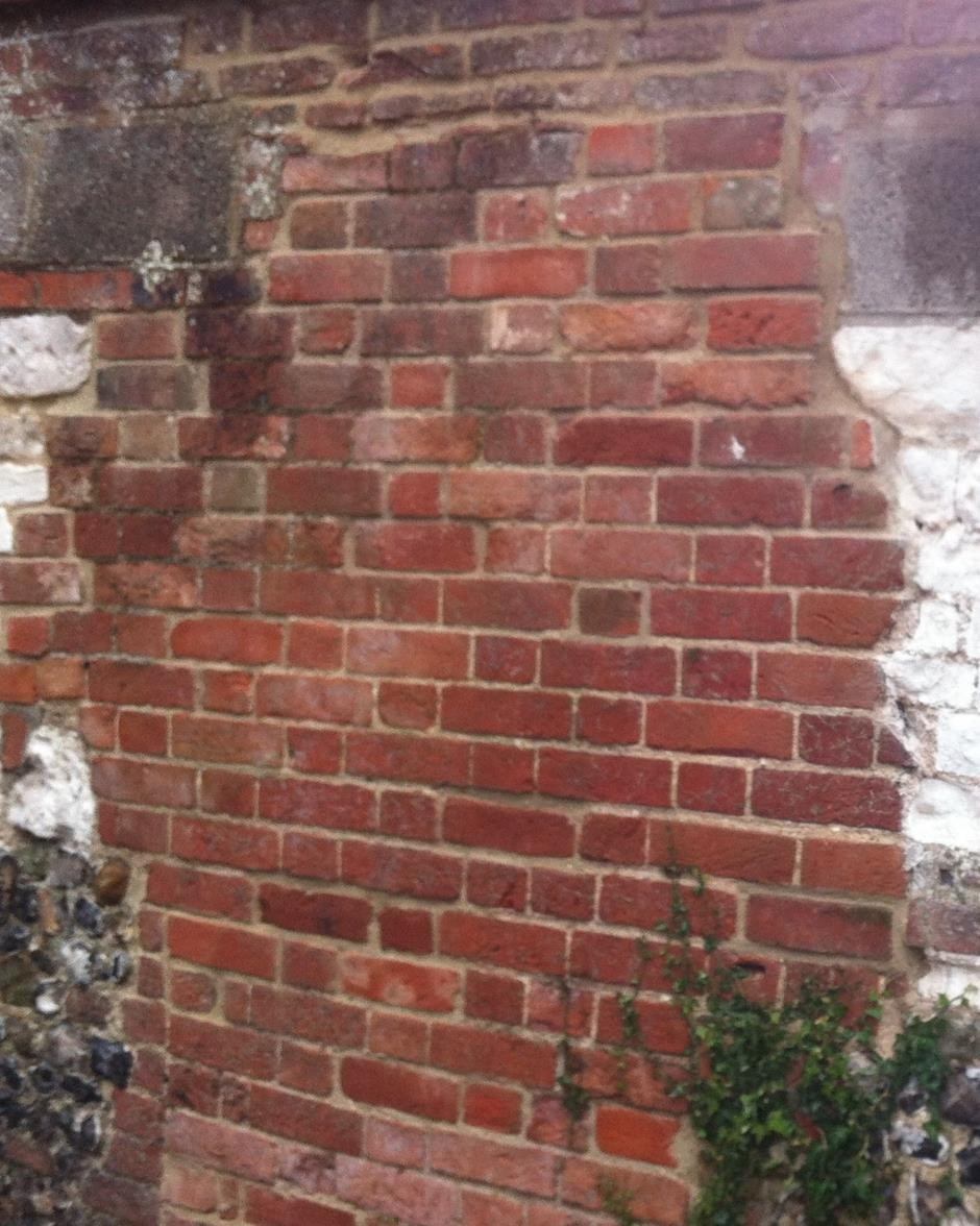 Repaired Brickwork