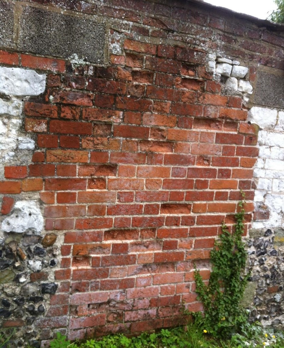 Failed Brickwork